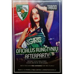 Oficialus rungtynių afterparty