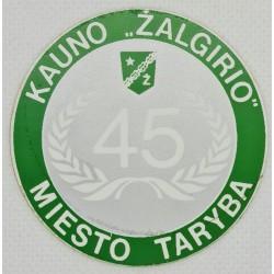 1989 Kauno Žalgirio miesto...