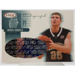 2002 SAGE Autographs Platinum