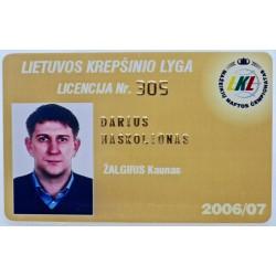 2006 LKL licencija