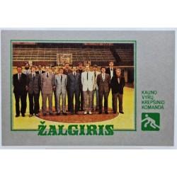1987 Kauno Žalgirio...