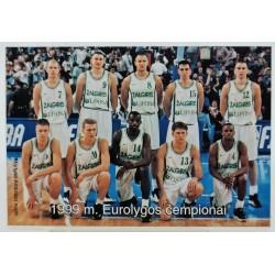 1999 Kauno Žalgirio komanda