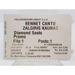 2012 bilietas Bennet Cantu...