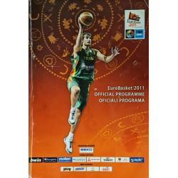 2011 EuroBasket oficiali...