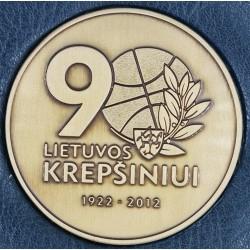 Lietuvos krepšiniui 90