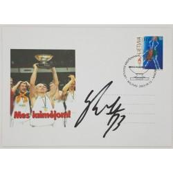 2003 Lietuvos krepšininkai...