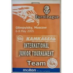 2005 Eurolygos jaunimo...