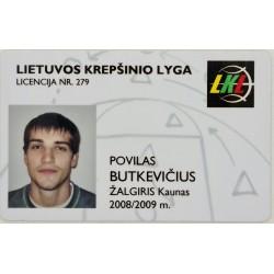 2008 LKL licencija