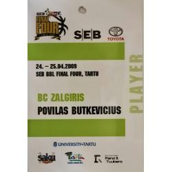 2008-09 SEB BBL
