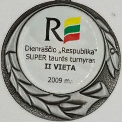 2009 Dienraščio Respublika...