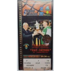 1998 Žalgirio rungtynių...