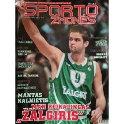 """2009 Žurnalas  """"Sporto žmonės"""""""