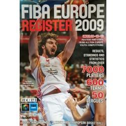 2009 FIBA Europe register
