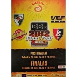 2012 BBL Final four