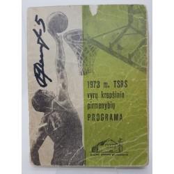 1973 TSRS vyrų krepšinio...