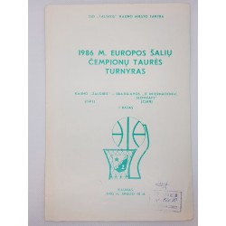 1986 Europos šalių čempionų...