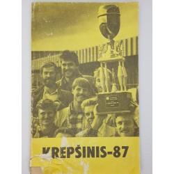 1987 Krepšinis-87