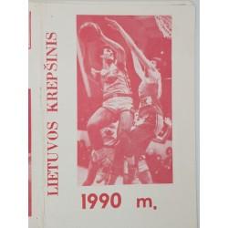 1990 Lietuvos krepšinis 90