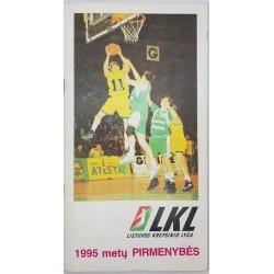 1994-95 LKL pirmenybių...