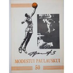 1995 Modestui Paulauskui 50