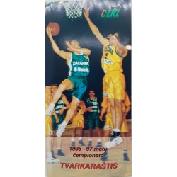 1996-97 LKL pirmenybių...