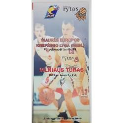 1999 NEBL Parodomoji taurė