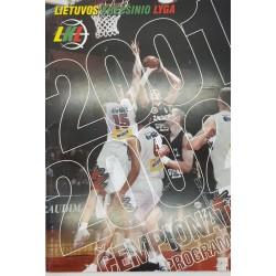 2001-2002 LKL čempionato...