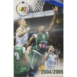 2004-2005 LKL čempionato...