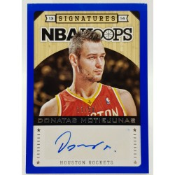 2013-14 Hoops Blue Signatures