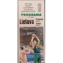 1997 Europos vyrų krepšinio...