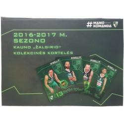 2016 - 2017 Kauno Žalgiris