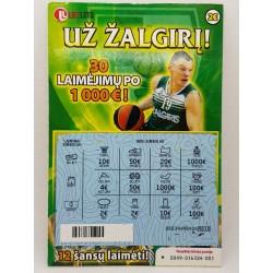 2014 Žalgirio loterija