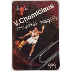 1999 Valdemaro Chomičiaus...