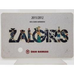 2011-12 Žalgirio  sezono...