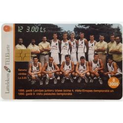 2005  Taksafono kortelė