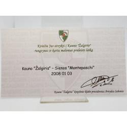 2007-08 Žalgirio  rungtynių...