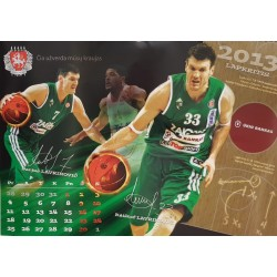 2013 metų Žalgirio kalendorius