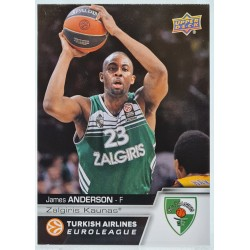 2015 Upper Deck Euroleague
